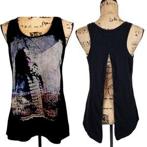 Maurice Zip Back Tank Top Small-N1363